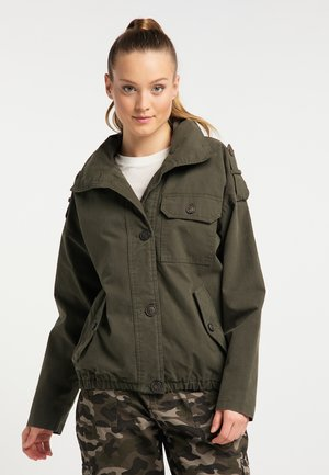 Light jacket - dark olive