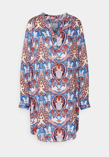 Shirt dress - multicolour