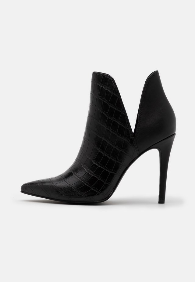 ANALESE - High heeled ankle boots - black