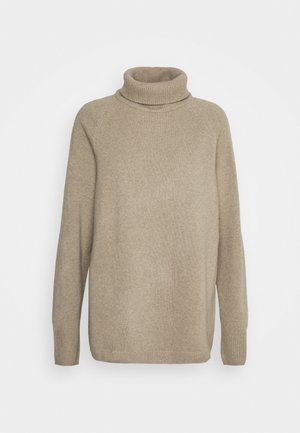 NIGHTWEAR TOP - Strikpullover /Striktrøjer - beige dusty