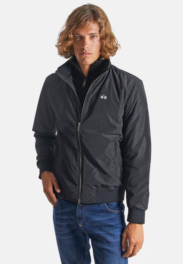 LA MARTINA QUIRICO - Light jacket - black