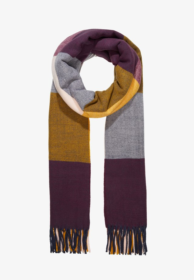 SCARF - Sjaal - golden yellow mix