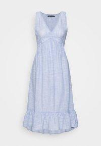 ONLY - ONLMARGAERY LIFE STRIPE  - Denní šaty - light blue denim/cloud dancer - 0