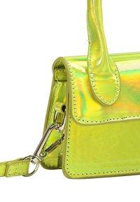 myMo ATHLSR - MINI-TASCHE - Handbag - grün holo - 4