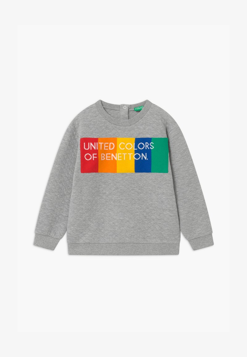 Benetton - UNISEX - Maglietta a manica lunga - light grey