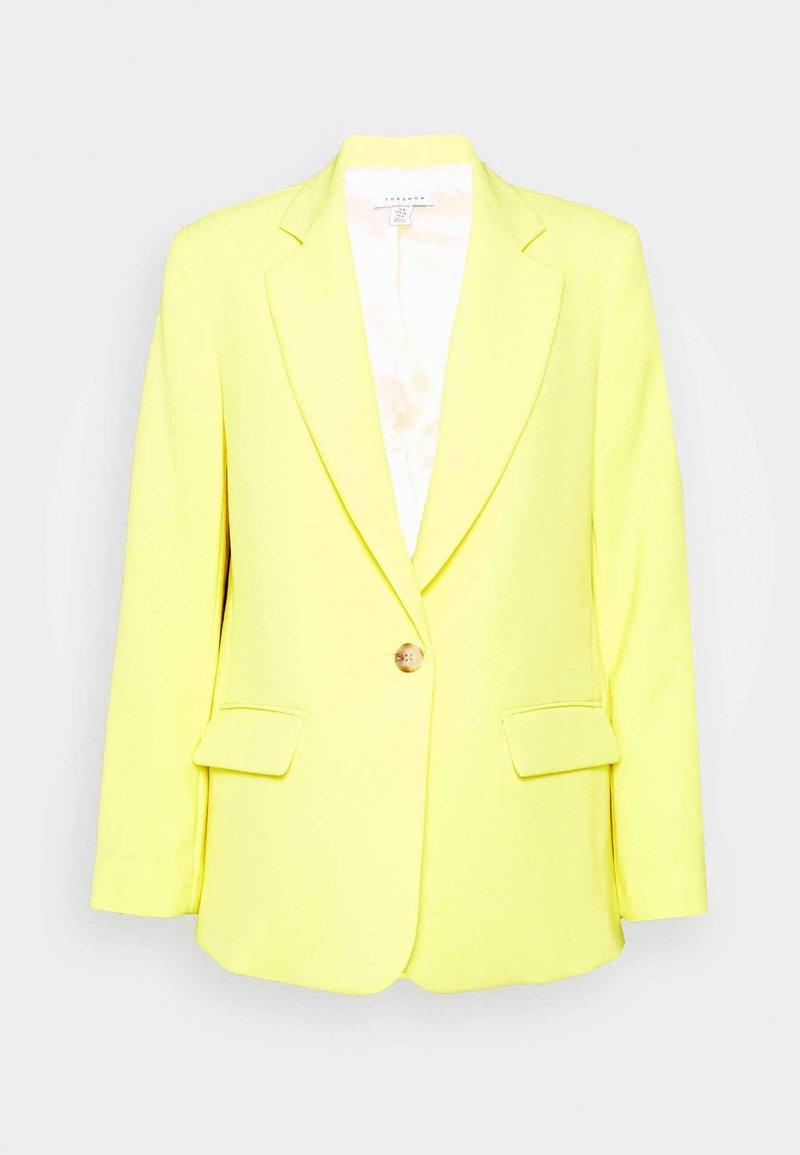 Topshop Petite - CLEAN - Blazer - yellow