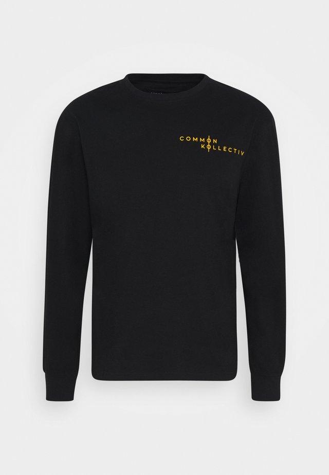 UNISEX BRONTE - Print T-shirt - black