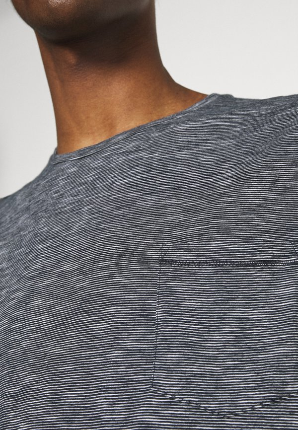 Marc O'Polo T-shirt basic - black/wielokolorowy Odzież Męska VNEF