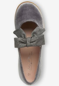 Next - MARY JANE - Ankle strap ballet pumps - grey - 1