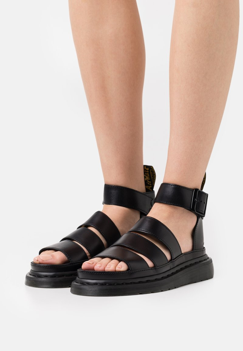 Dr. Martens - CLARISSA LI - Platform sandals - black