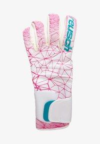 Reusch - Rękawiczki pięciopalcowe - white / magenta - 1