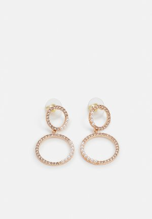 MASKIELL - Earrings - clear/gold-coloured