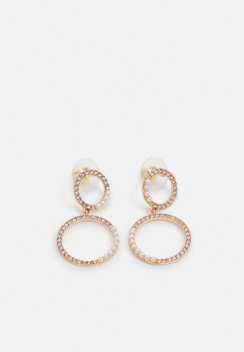 ALDO - MASKIELL - Earrings - clear/gold-coloured