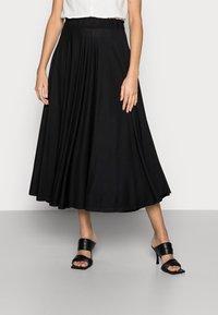 Esprit - SKIRT - A-line skirt - black - 0