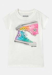 Converse - OMBRE CHUCKS - Camiseta estampada - white - 0