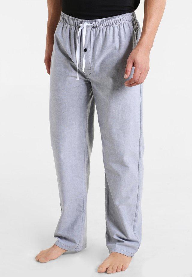 Bas de pyjama - blau hell melange