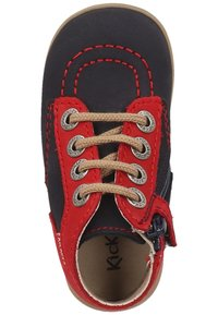 Kickers - Baby shoes - red navy - 1