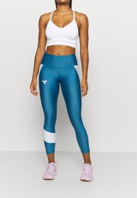 Under Armour - PROJECT ROCK ANKLE CROP - Tights - acadia - 0
