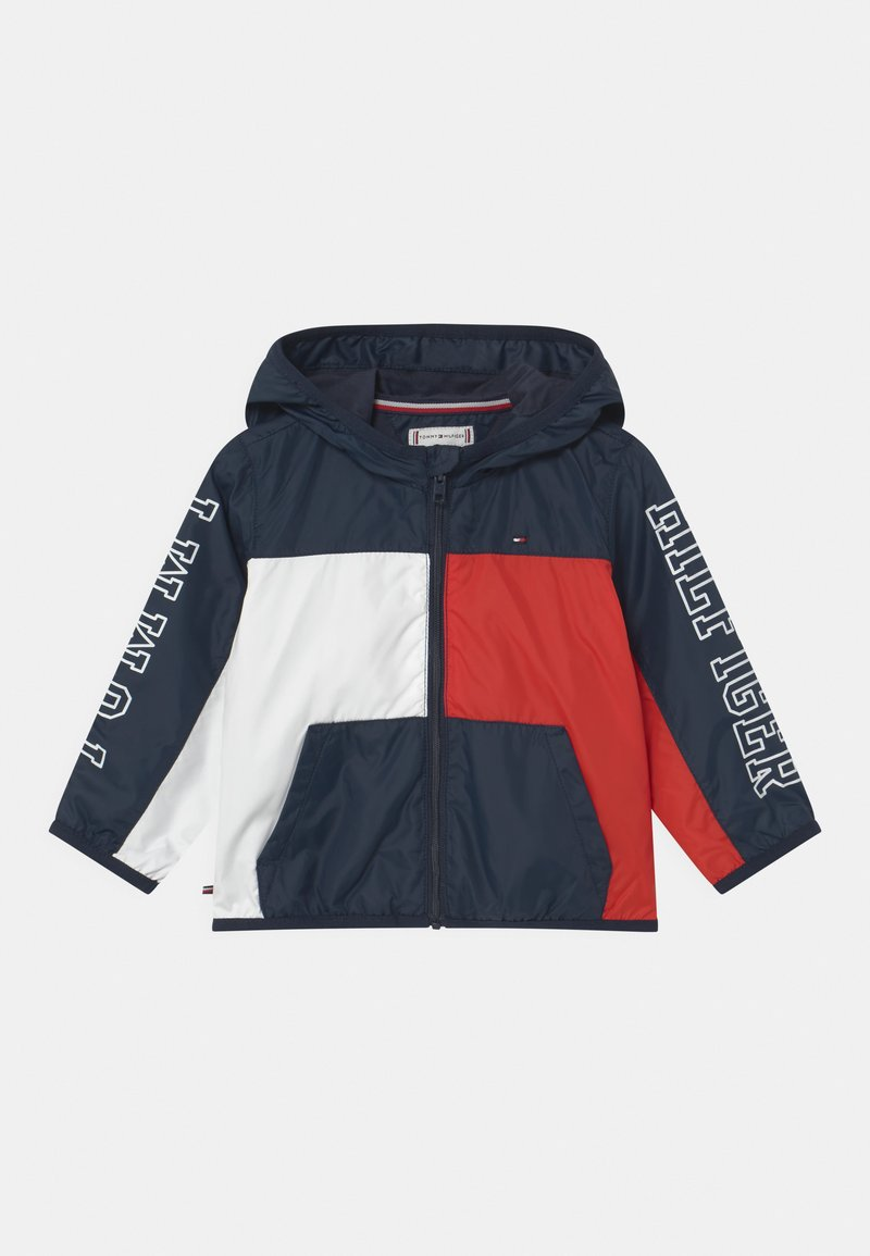 Tommy Hilfiger - BABY TOMMY COLORBLOCK UNISEX - Light jacket - twilight navy