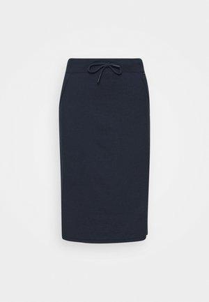 ARC SKIRT WOMAN - Pouzdrová sukně - caviar