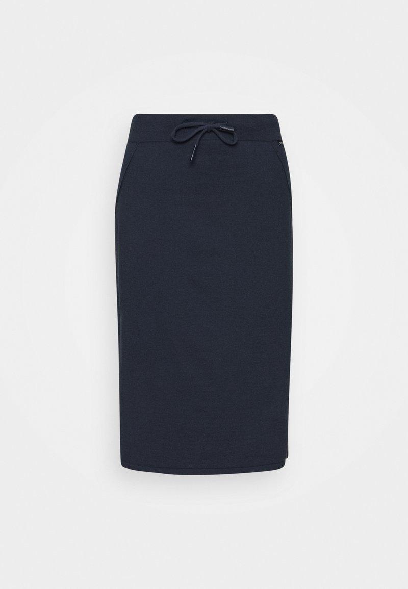 Ecoalf - ARC SKIRT WOMAN - Pencil skirt - caviar