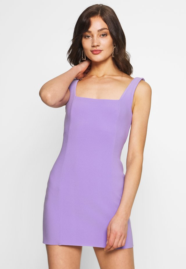 GEMMA MINI DRESS - Day dress - violet