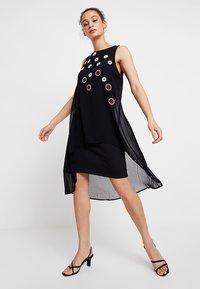 Desigual - CORDOBA - Denní šaty - black - 2