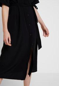 Monki - ELOISE DRESS - Skjortekjole - black - 5