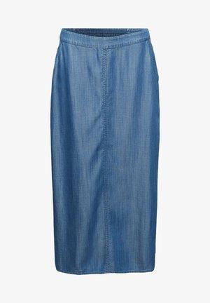 Denim skirt - blue medium washed