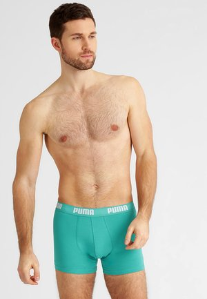 BASIC 2 PACK - Pants - columbia green
