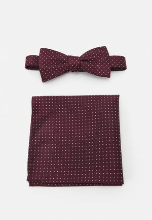 SLHLANDON BOWTIE GIFTBOX SET - Pocket square - winetasting