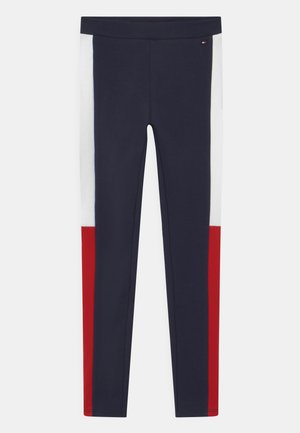Leggings - Trousers - twilight navy/deep crimson