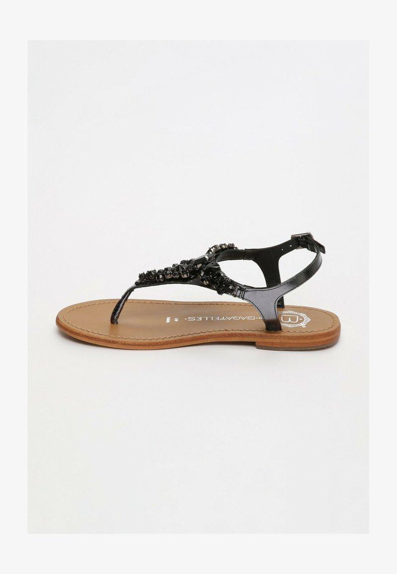 Les Bagatelles - GENIA   - T-bar sandals - black