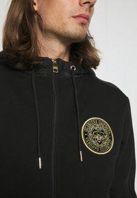 Glorious Gangsta - IRVAS HOODY - Zip-up sweatshirt - jet black - 5
