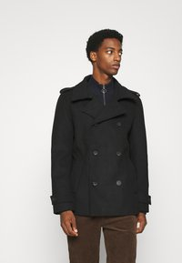 TOM TAILOR DENIM - CABAN - Short coat - black - 4
