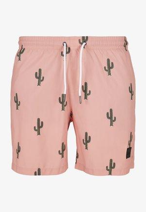 Swimming shorts - cactus aop