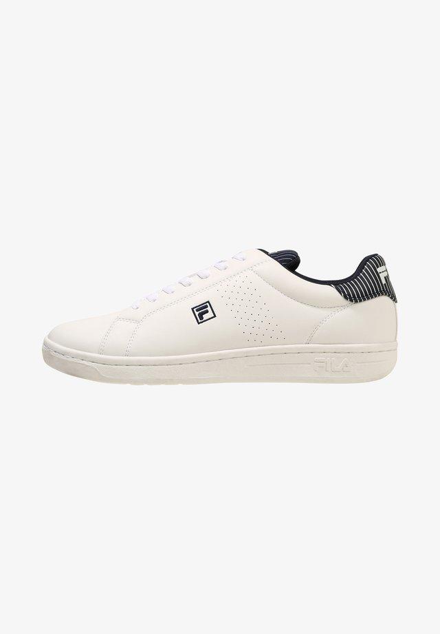 CROSSCOURT - Sneakers basse - white / fila navy / white