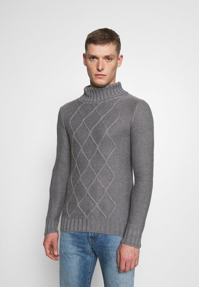 TURTLE NECK - Jersey de punto - grey