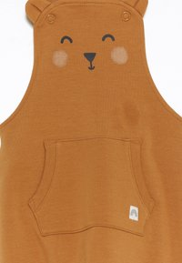 Lindex - TROUSERS BIB BEAR UNISEX - Tuinbroek - dusty brown - 2
