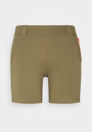 Sports shorts - covert green