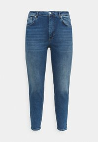 ONLY Carmakoma - CARENEDA LIFE MOM - Relaxed fit jeans - dark blue denim