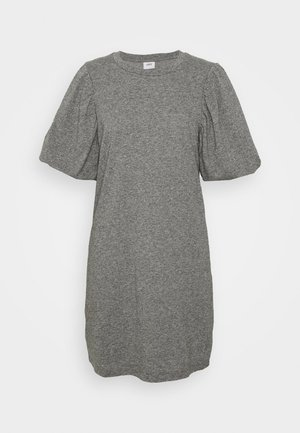 JDYMIA PUFF SLEEVE DRESS - Vestido informal - medium grey melange