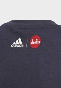 adidas Performance - CLEOFUS T-SHIRT - Print T-shirt - blue - 3
