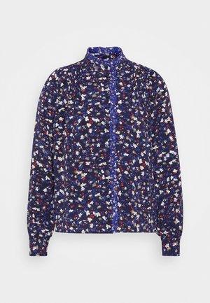 DOSOLO - Blouse - navy blue pattern
