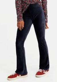 WE Fashion - Pantaloni - dark blue - 1