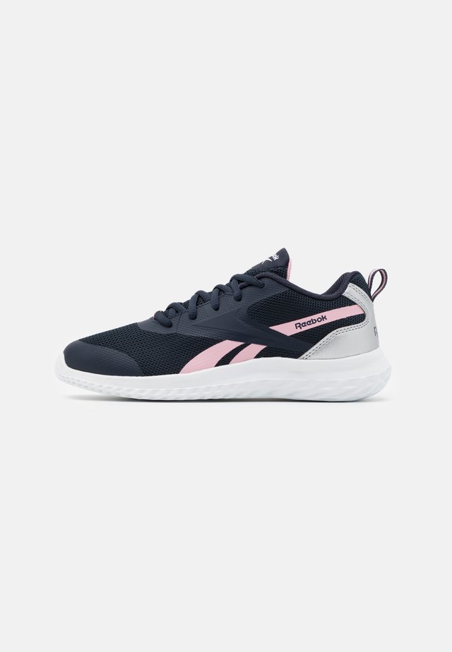 RUSH RUNNER 3.0 - Scarpe running neutre - night navy/class pink/silver metallic