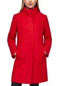 s.Oliver - Classic coat - red - 6
