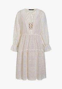 Ana Alcazar - Day dress - offwhite - 4