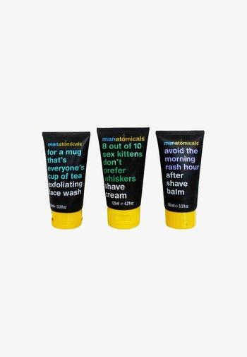 MANATOMICALS WASH & SHAVE SET - Shaving set - -