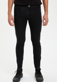 DeFacto - Jeans Skinny Fit - anthracite - 0